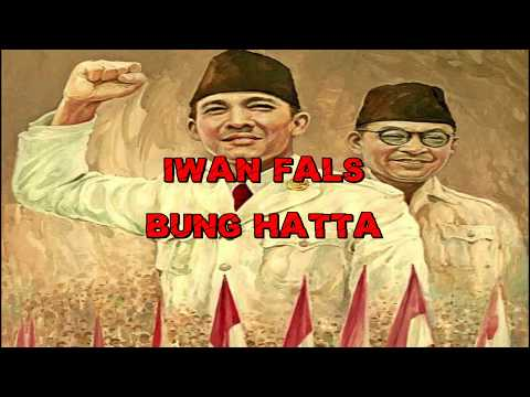 Iwan fals - Bung Hatta (Karaoke)