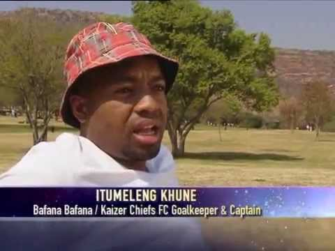 Top Billing meets soccer star Lucky Khune (FULL INSERT)