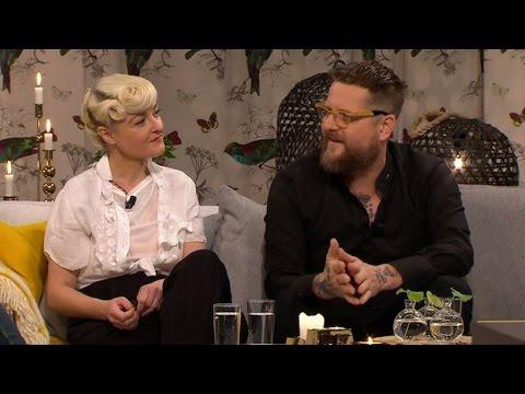 Patrik Arve och Bea Szenfeld om att leva som veganer - Malou Efter tio (TV4)
