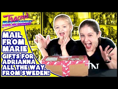 Mail from Marie! Unboxing Swedish Candy, Grossery Gang, Pikachu, Toys + TMNT Lego & Pizza Cookbook!