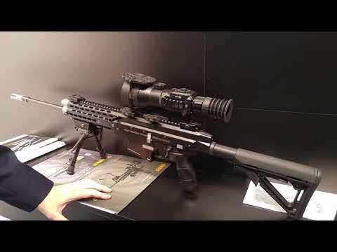 Новинка от ORSIS  полуавтоматическая винтовка