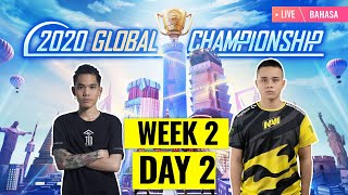 [Bahasa] PMGC 2020 League W2D2 | Qualcomm | PUBG MOBILE Global Championship | Week 2 Day 2