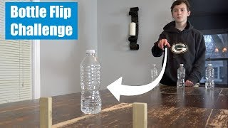 Water Bottle Flip Challenge | That