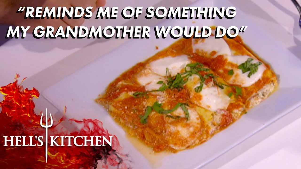 Chefs Face Off In An Italian Challenge Hell S Kitchen