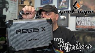 Geek Vape Aegis X 200w Review - 2.4
