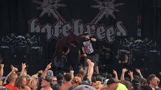 """Hatebreed - """"Looking Down The Barrel Of Today"""" (Live) Vans Warped Tour Chicago, IL 7/22/2017"""