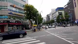 강동구민회관  차량 시위 생중계 2020.10.3