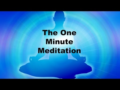 The Extended One Minute Meditation By Dr. Pillai