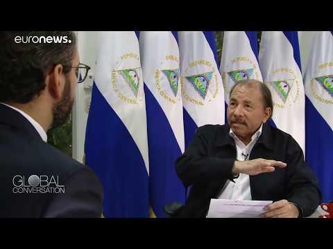 Daniel Ortega, presidente de Nicaragua: