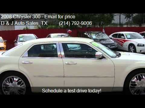 2008 chrysler 300 lx for sale in dallas tx 75212 at d and j youtube. Black Bedroom Furniture Sets. Home Design Ideas