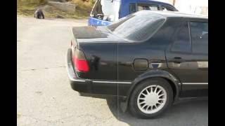 SAAB 9000 1997 г.в. (Заводка на холодную и внешний вид по кругу)