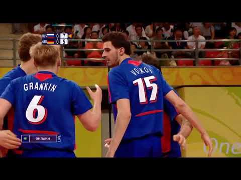 Volleyball Olympics 12 08 2008 Men Russia - Germany