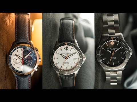 BAUME & MERCIER - Top 3 watches from SIHH 2017