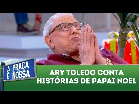 Ary Toledo conta histórias de Papai Noel   A Praça é Nossa (21/12/17)