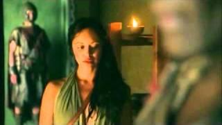 vuclip Gannicus & Melitta Scenes 1x03