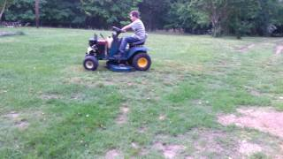 Yardman riding lawn mower