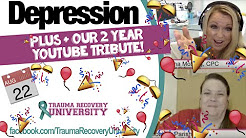 Depression: How Adult Survivors of Child Abuse Can Cope and Lessen Its Severity