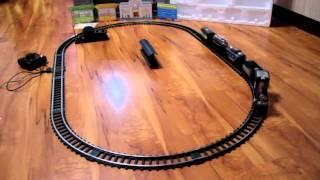 Дитяча Іграшкова Залізниця іграшка S+S TOYS Вокзал EC80214R огляд. Металеві рейки.