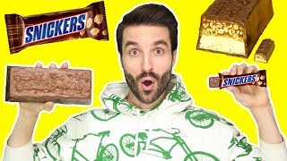 BARRE CHOCOLAT XXL SNICKERS - CARL IS COOKING