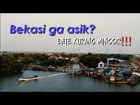 Tempat Wisata Di Bekasi? Jembatan Cinta Muara Tawar #explorebekasi3 #drone #dji #spark #sony