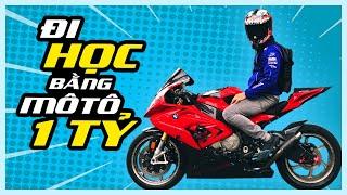 PKL - Đi học bằng siêu mô tô hơn một tỷ đồng (Riding superbike to the university)