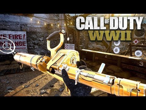 ROAD TO CHROME (GOLD MG15) - Call of Duty: WW2 Multiplayer Gameplay - PS4 PRO