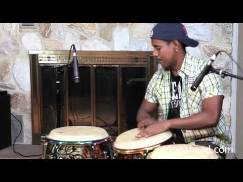 Duni and Miguel percussion jam