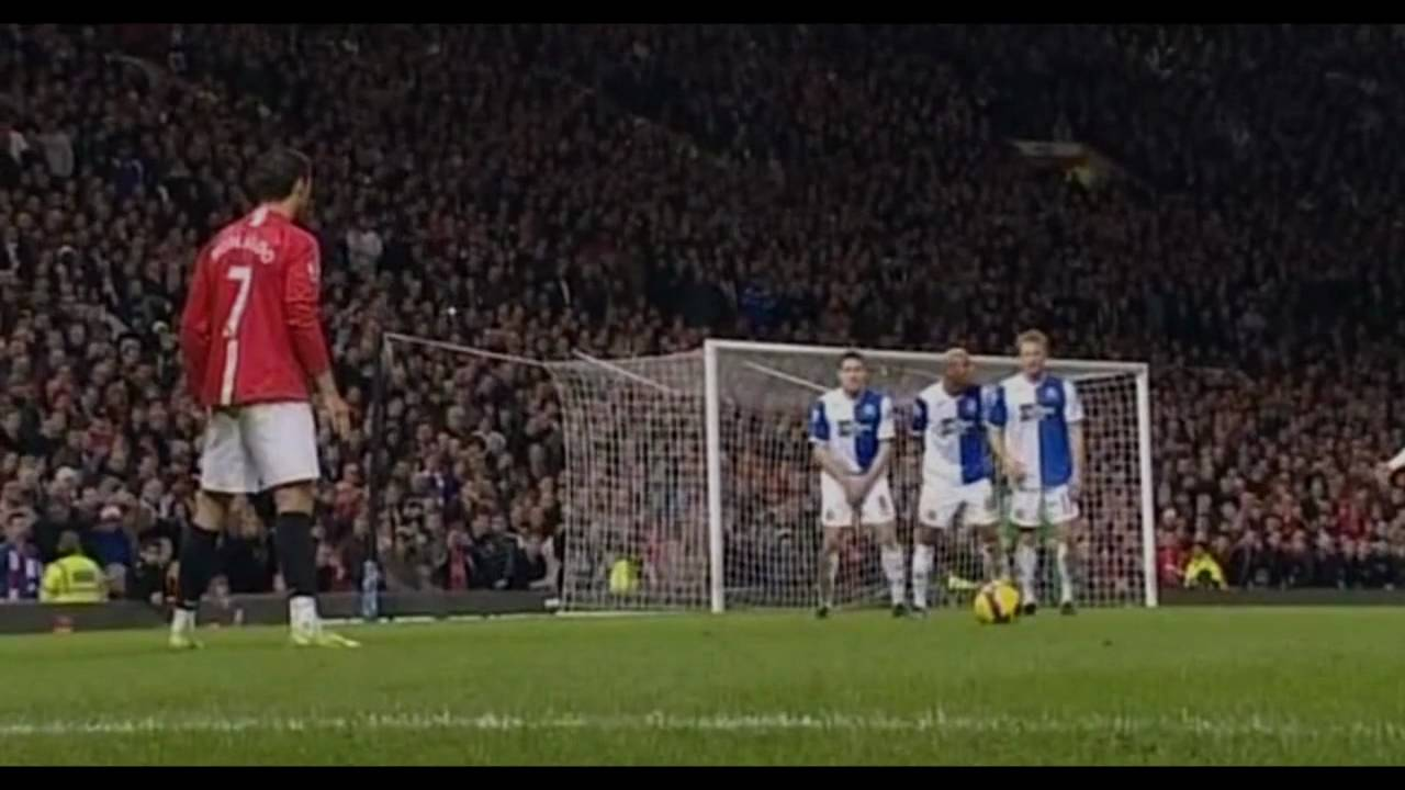 Cristiano Ronaldo - Freekick Angel 2009 ||HD|| - YouTube
