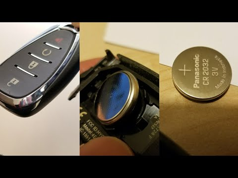 DIY: How to Replace battery on a Chevy GM Car Remote Keyless Entry