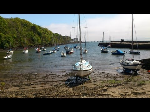 Aberdour Harbour to Hawkcraig Point