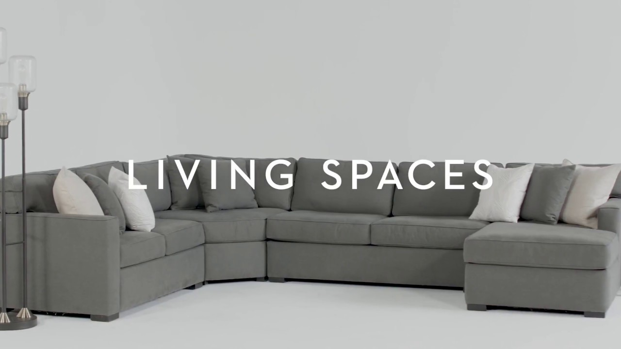 Awesome Alder 4 Piece Sectional | Living Spaces
