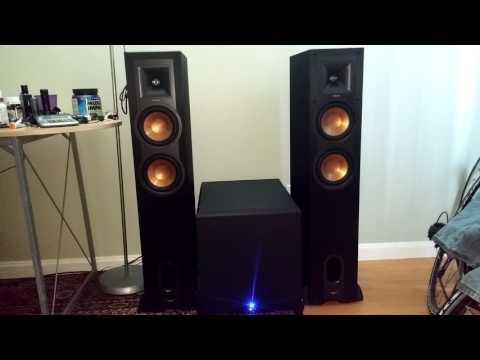 KLIPSCH R-26F FLOORSTANDING SPEAKERS REVIEWED BEST SOUND