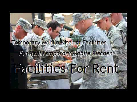 Temporary Mobile Kitchen Facilities For Rent