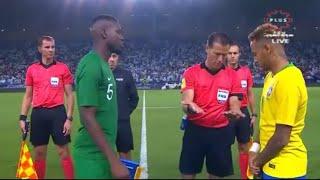 مباراة السعودية x البرازيل - بطولة #سوبر_كلاسيكو الجمعة 2018\10\12