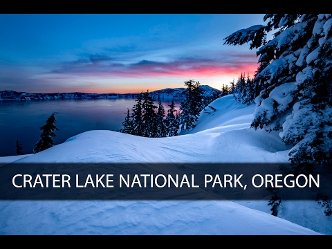 Landscape Photography On Location - Crater Lake National Park, OR.