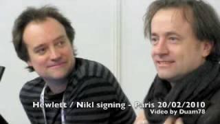 SciFi Convention - David Hewlett & David Nykl signing