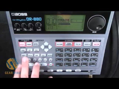 boss dr 880 drum machine overview youtube. Black Bedroom Furniture Sets. Home Design Ideas
