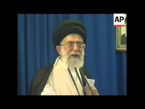 Khamenei says Iran won''t build nuclear bombs