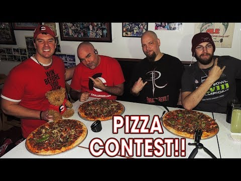 Delicious SUPREME PIZZA Challenge in PORTLAND!!
