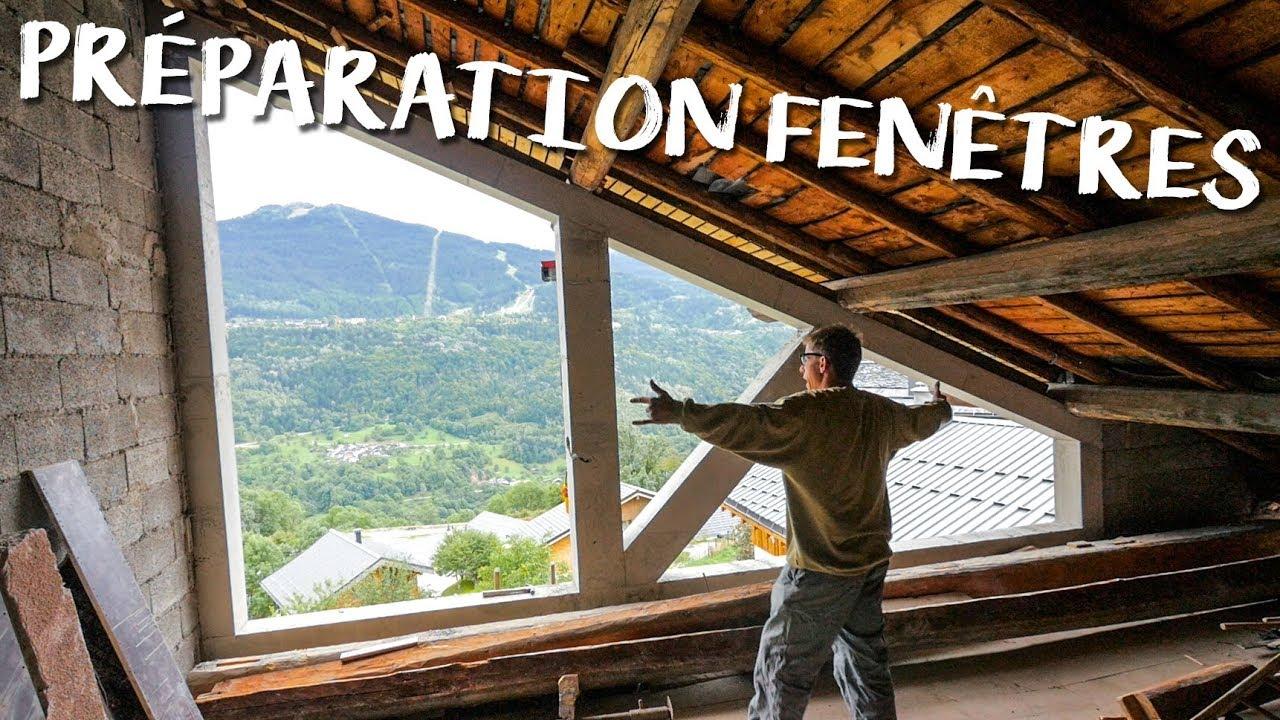 Renovation Fenetre Maison Ancienne prÉparation des fenÊtres - passion rénovation ep6 - construction maison  travaux