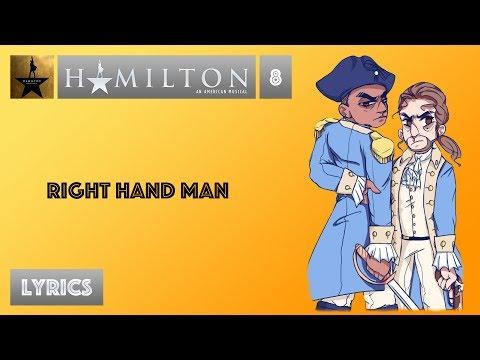 #8 Hamilton - Right Hand Man [[VIDEO LYRICS]]