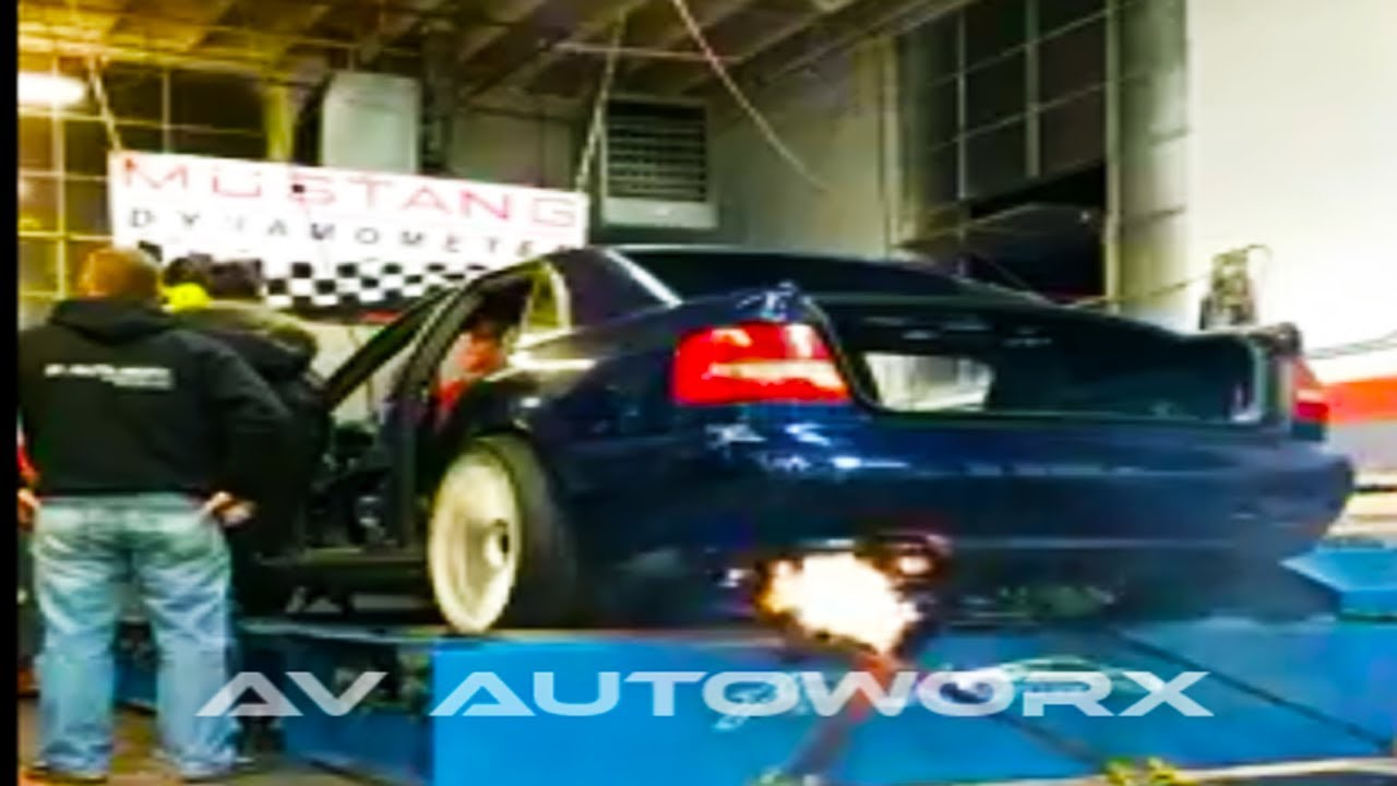 audi RS4 4 2 Single Turbo Dyno Runs  Over 700awhp w/graphs!