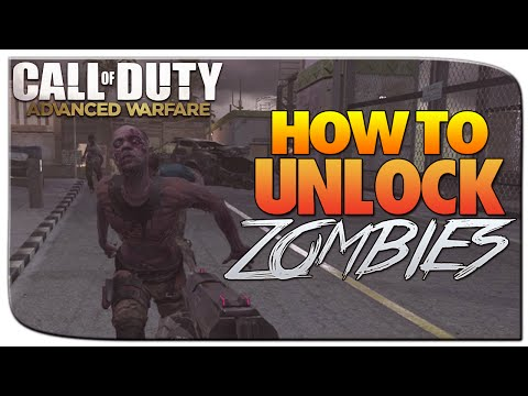 Call of Duty Advanced Warfare ZOMBIES! : How To Unlock Zombies - AW ZOMBIES TUTORIAL!
