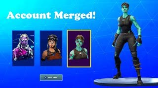 How To MERGE ACCOUNTS NOW FREE! Fortnite ACCOUNT MERGING SYSTEM! Transfer Rare Skins - Ghoul Trooper