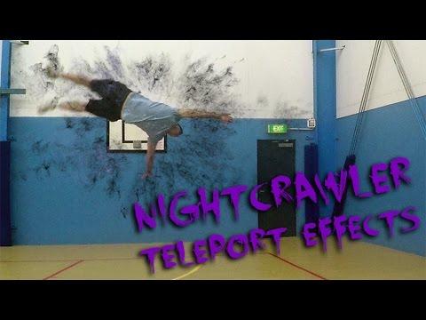 Nightcrawler teleport effects