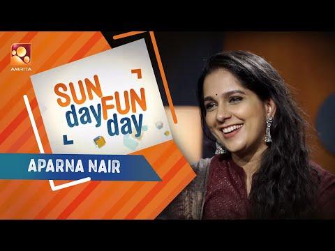 APARNA NAIR Sunday Funday Amrita TV