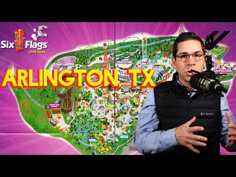 Top Reasons To Move To Arlington, TX: Six Flags Over Texas