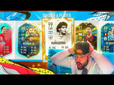 WHAT A DRAFT!! 195 HIGHEST RATED FUT DRAFT CHALLENGE! FIFA 20 Ultimate Team