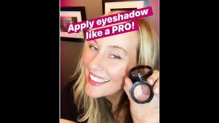 Apply eyeshadow like a PRO! Celeḃrity makeup artist tips, tricks & secrets