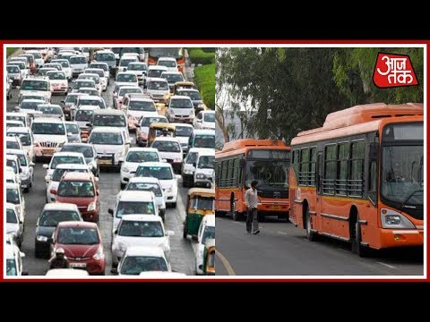 Free Travel on DTC Buses During Odd-Even Scheme